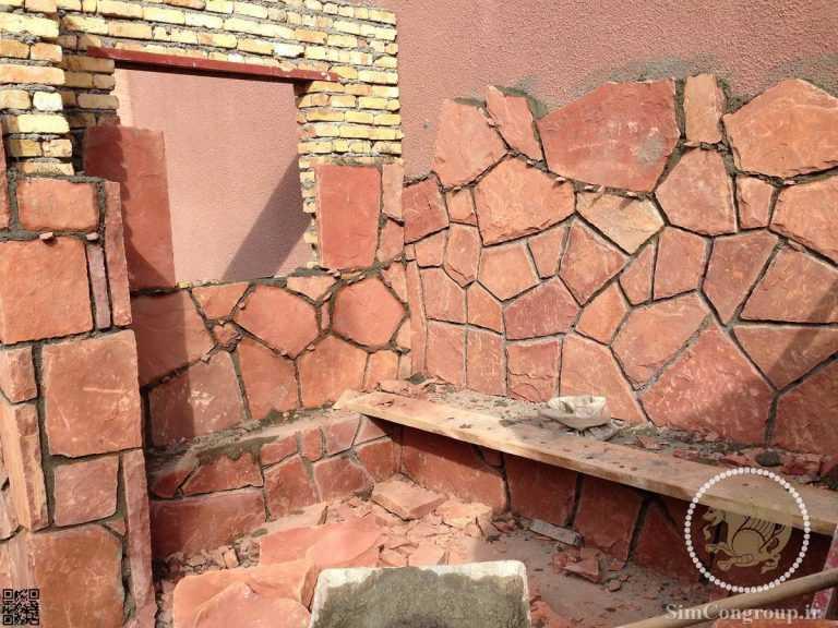 سنگ کوهی در ساخت محوطه