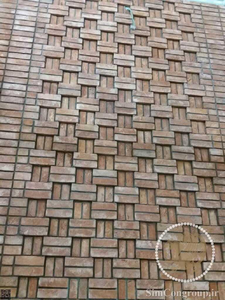 طراحی آجر نمای ساختمان