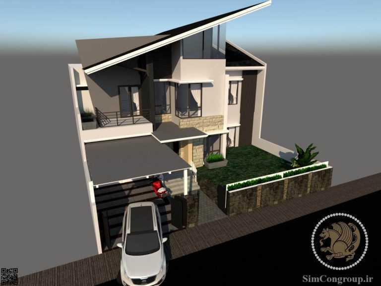 طراحی ساختمان ویلا