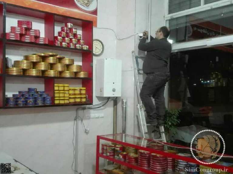 نصب دوربین مغازه