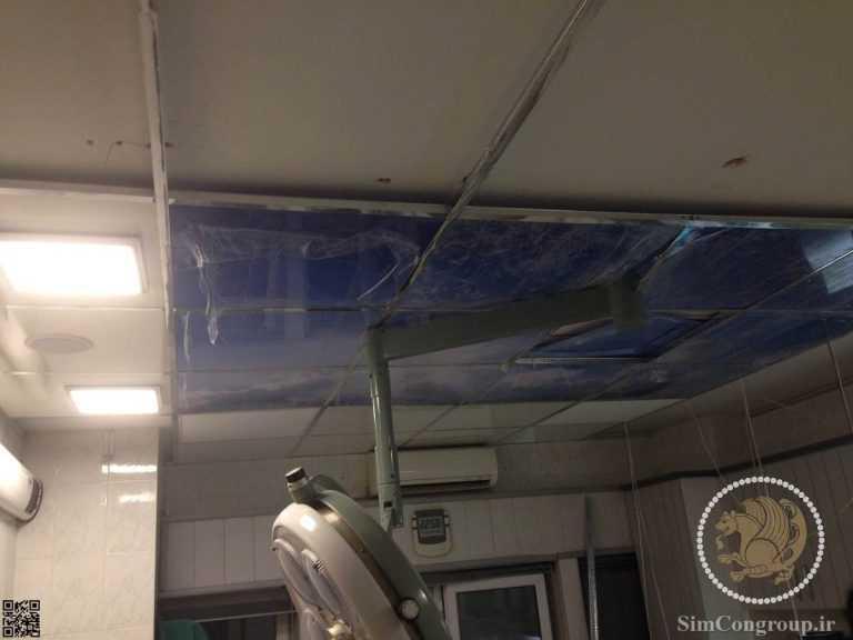 نصب سیستم صوتی سقفی