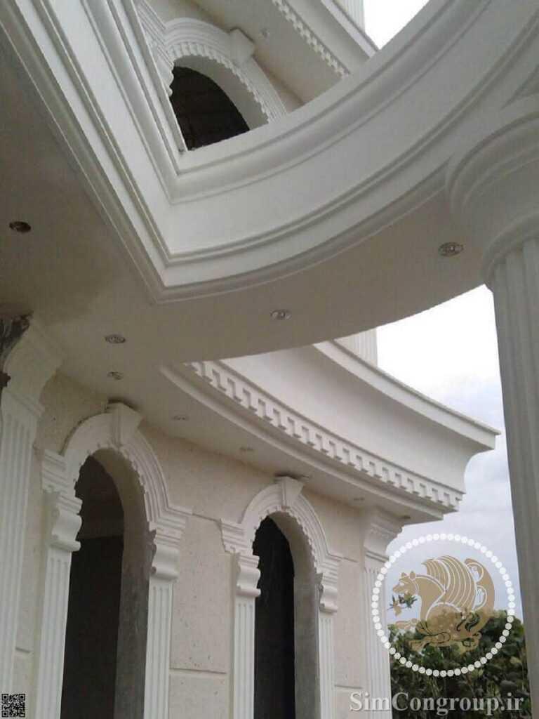 نمای سیمانی ساختمان