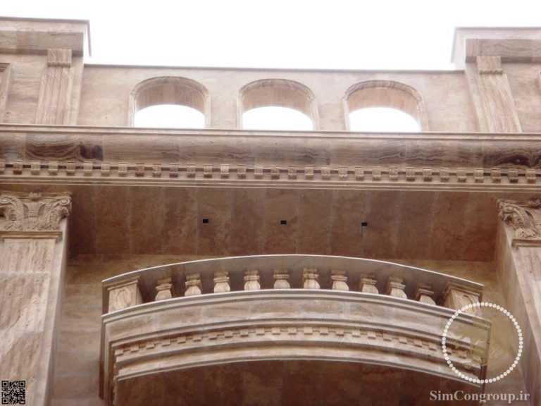 نما رومی بالکن ساختمان