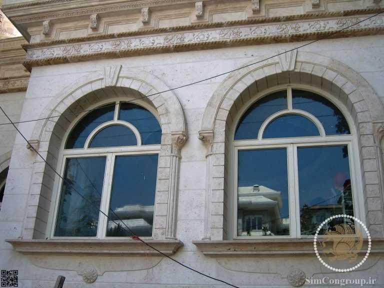 نما رومی دور پنجره ها