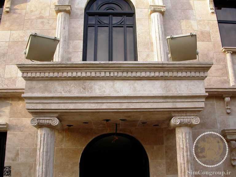 نورپردازی نما رومی