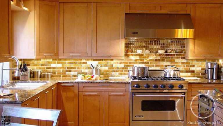استفاده از نور طبیعی در آشپزخانه
