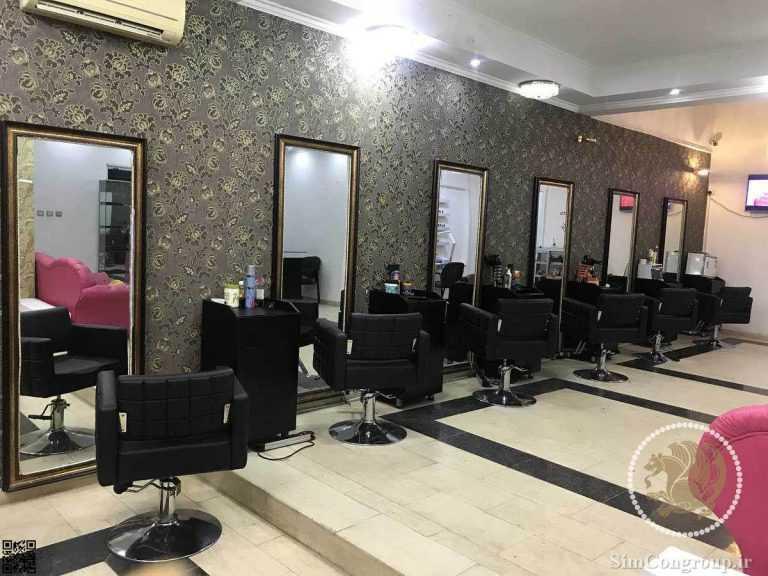 دکوراسیون آرایشگاه زنانه ایرانی