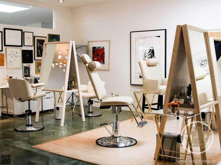 دکوراسیون آرایشگاه زنانه خلاقانه