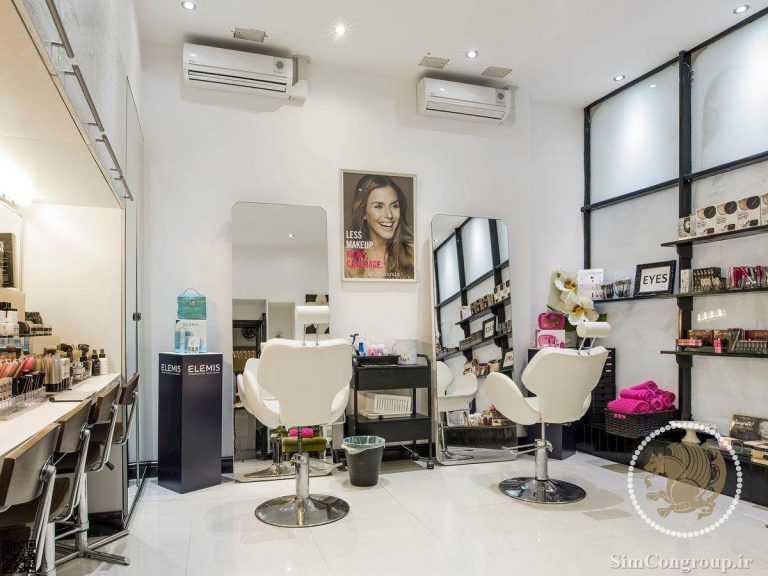 دکوراسیون آرایشگاه زنانه در منزل