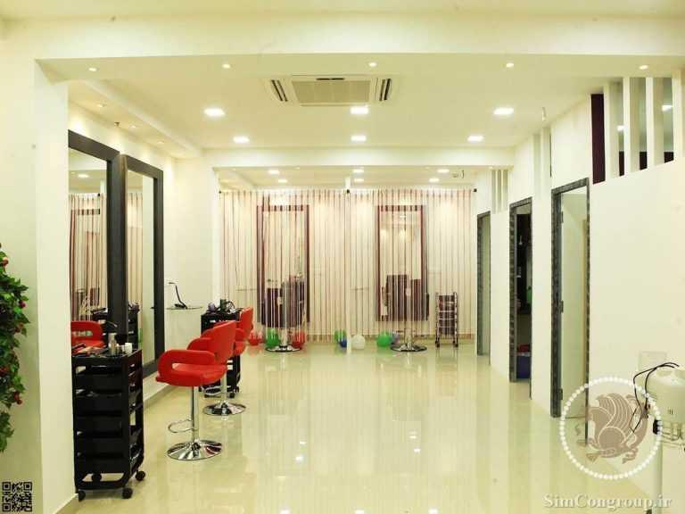 دکوراسیون ارزان آرایشگاه زنانه