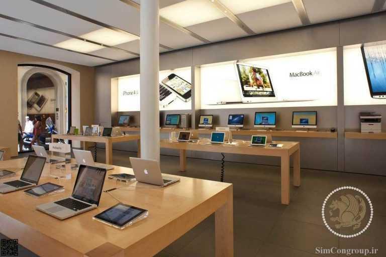 دکوراسیون مغازه تجهیزات کامپیوتری
