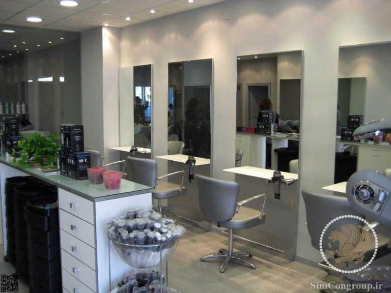 دکور مدرن آرایشگاه زنانه