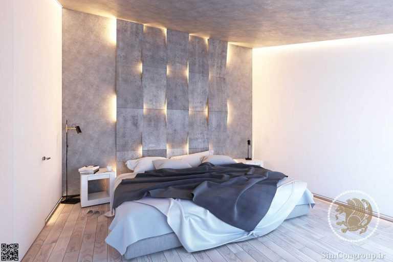 دیوار اتاق خواب