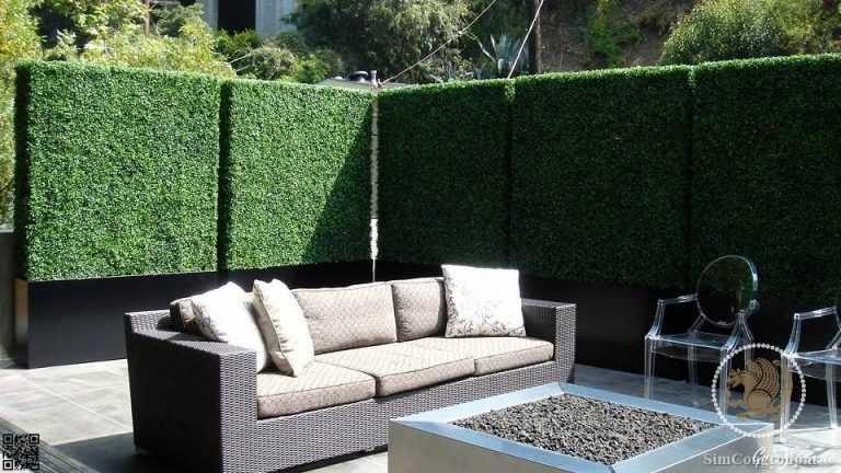 دیوار سبز در طراحی حیاط ویلا