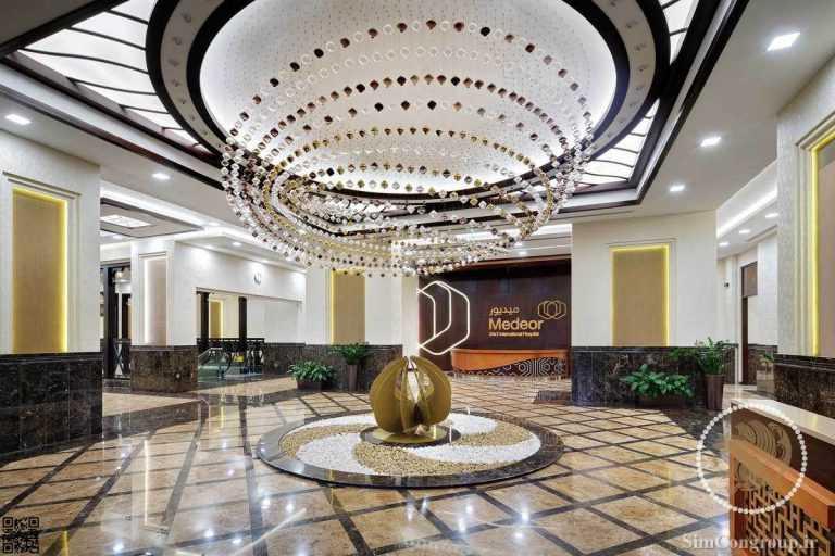 طراحی لابی هتل