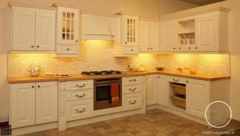 نورپردازی آشپزخانه با زیر کابینتی