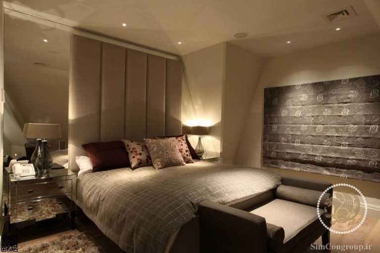 نورپردازی ملایم اتاق خواب