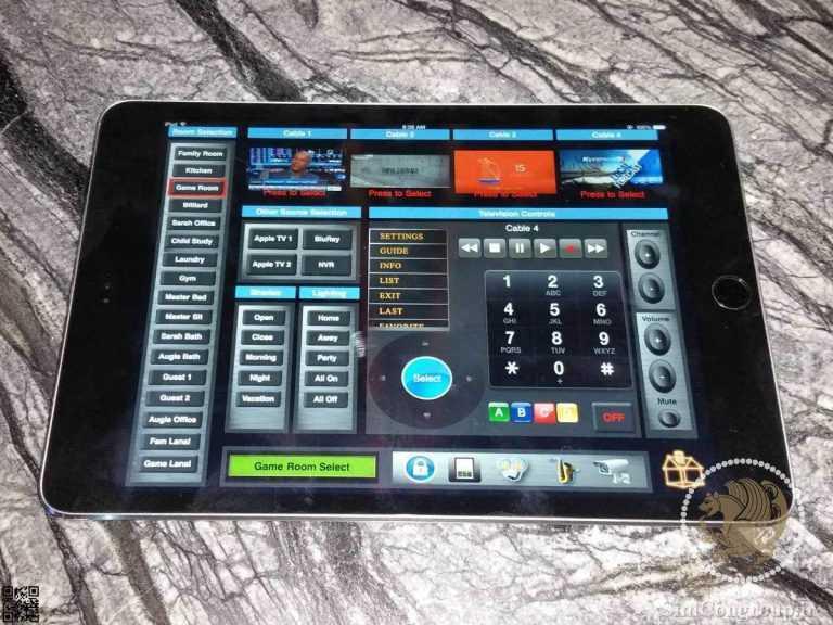 کنترل خانه هوشمند با اپلیکیشن