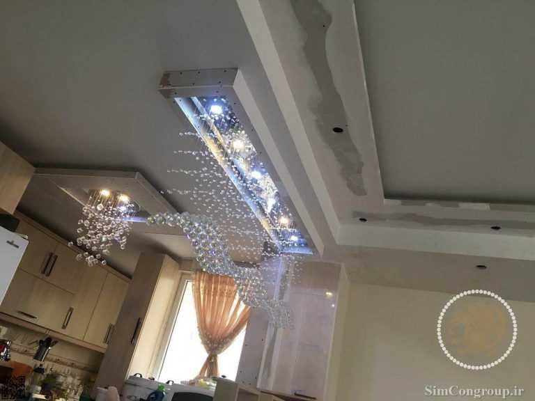بتونه کناف سقف