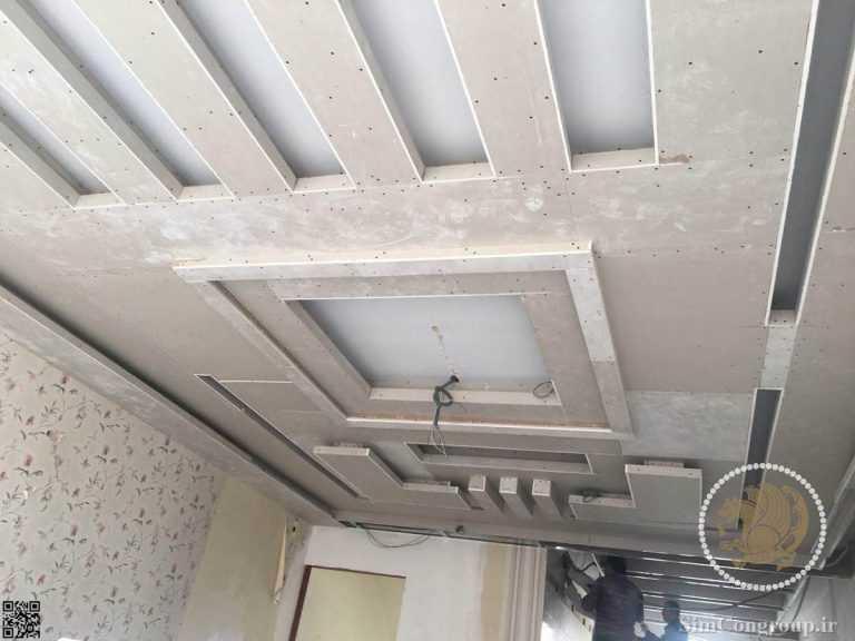 ساخت طرح سقف کناف