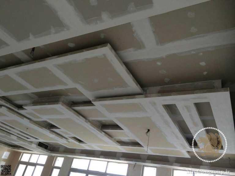 ساخت طرح کناف سقف
