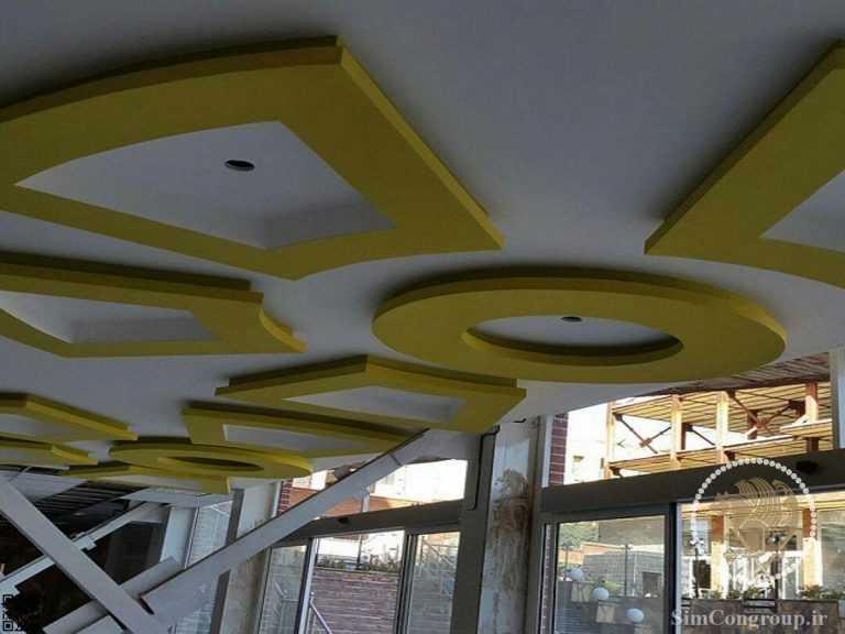 ساخت کناف سقف مغازه