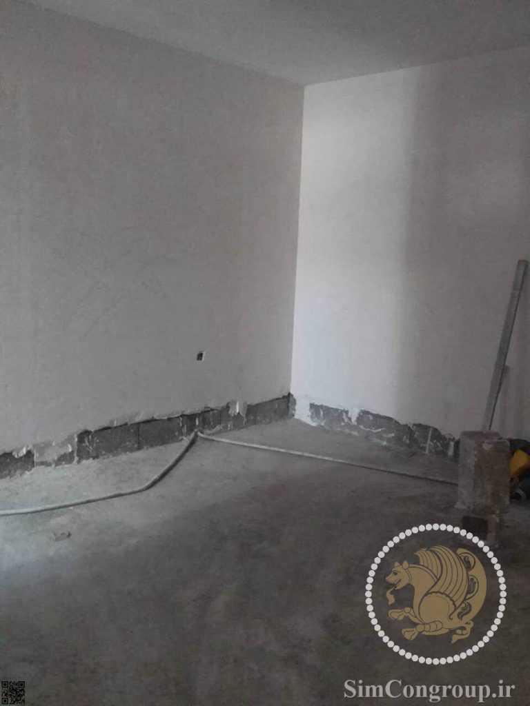 سفیدکاری دیوار