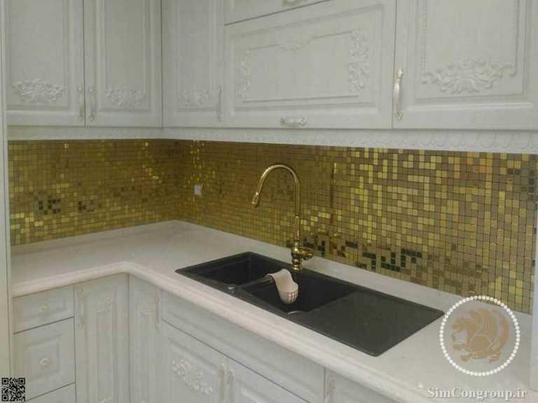 سنگ کورین کابینت آشپزخانه