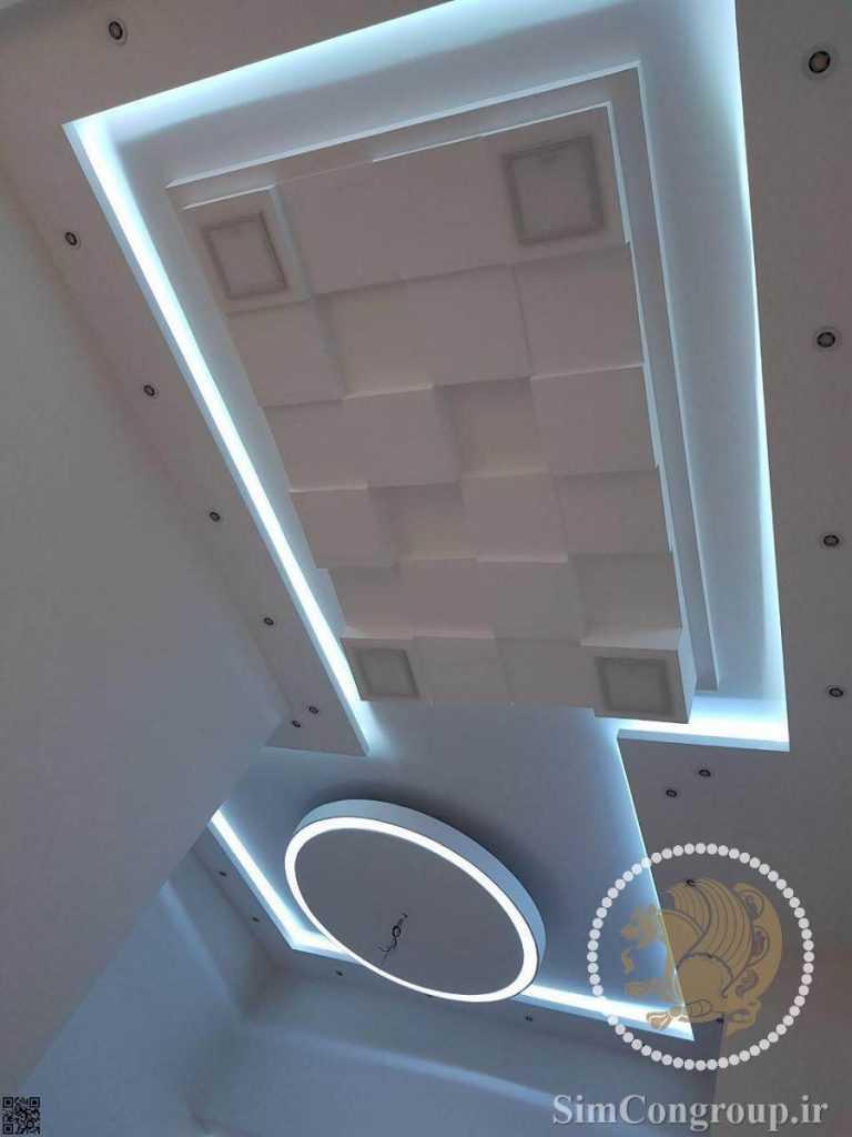 نورمخفی کناف سقف منزل