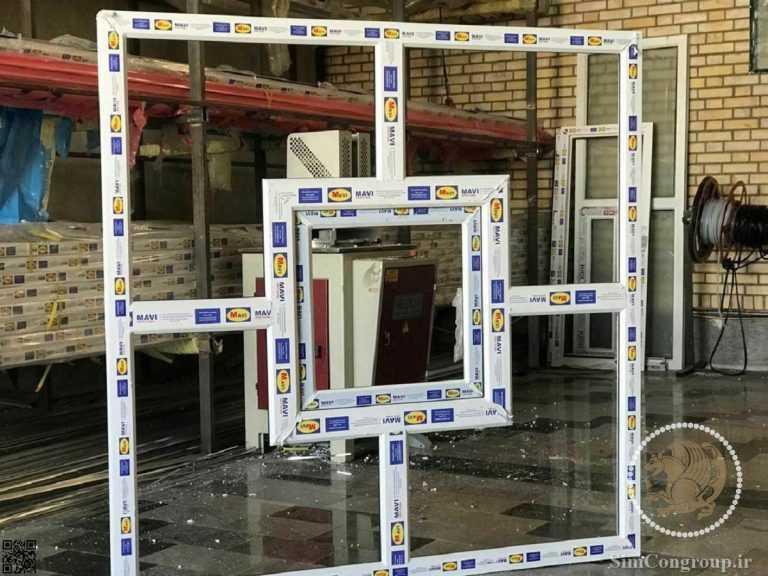 پنجره دوجداره طرحدار