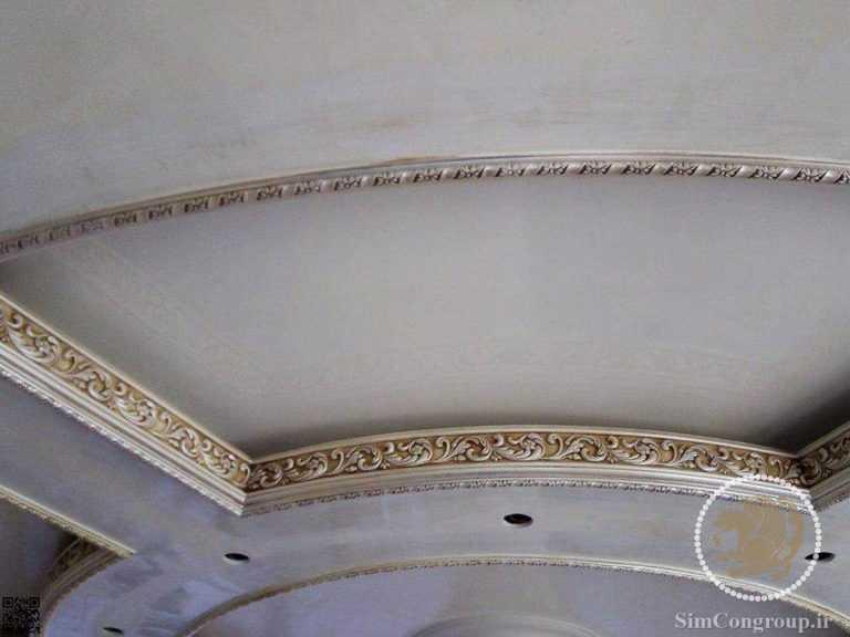گچبری سلطنتی سقف