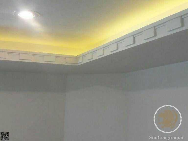 گچبری نورمخفی سقف