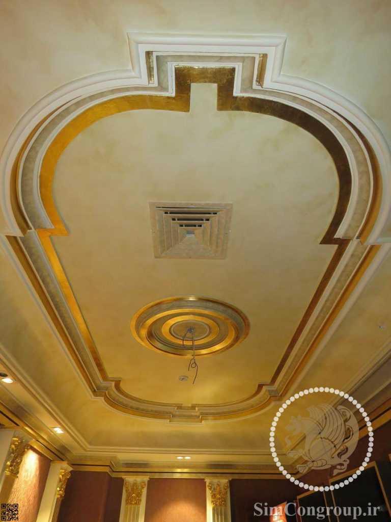 گچبری و ابزار سقف
