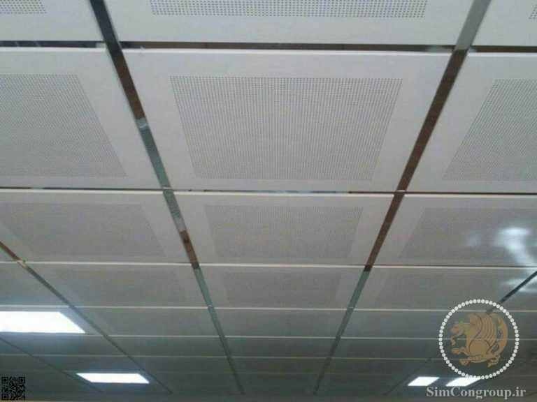 سقف کاذب پی وی سی دفتر کار