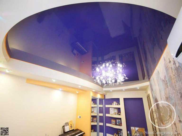 سقف کششی اتاق خواب