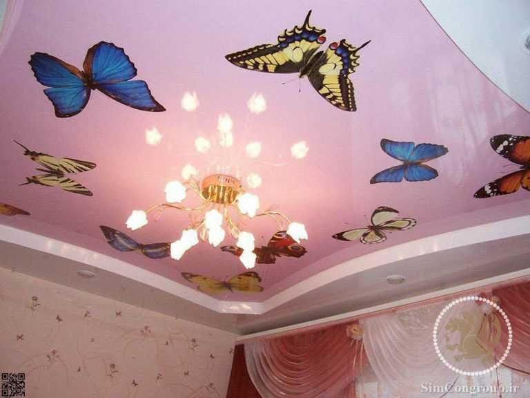 سقف کششی اتاق کودک