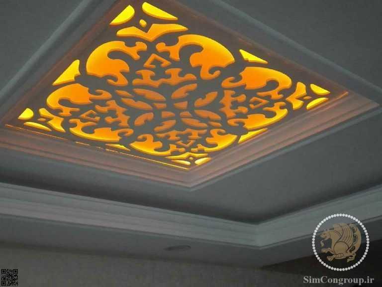 نورپردازی سقف کاذب سی ان سی