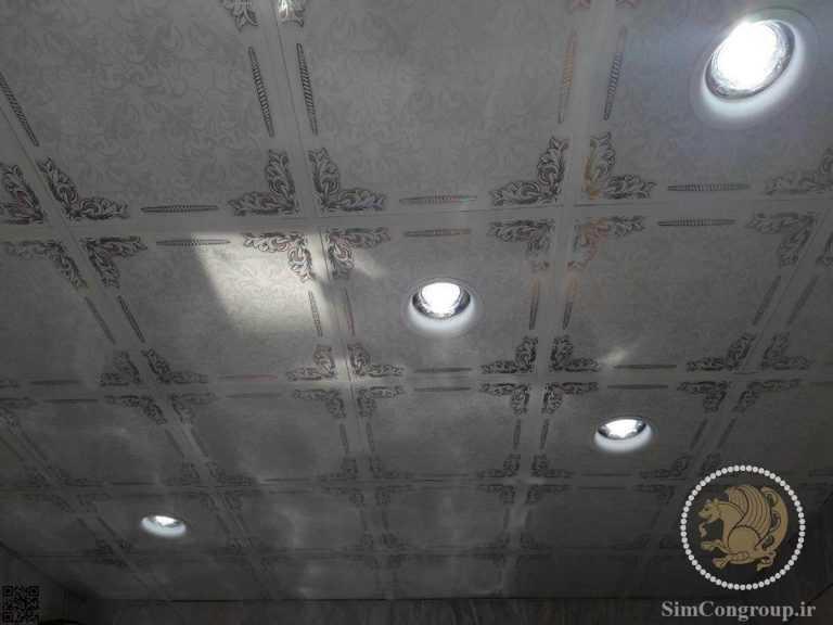نورپزدازی سقف کاذب دستشویی