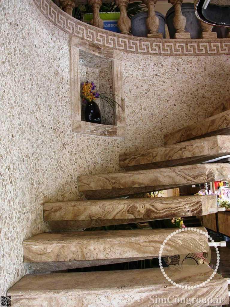 پله سنگی تراروتن