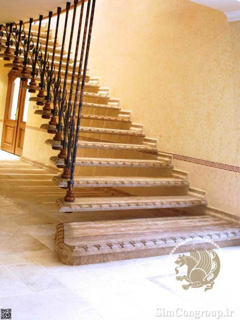 پله سنگی