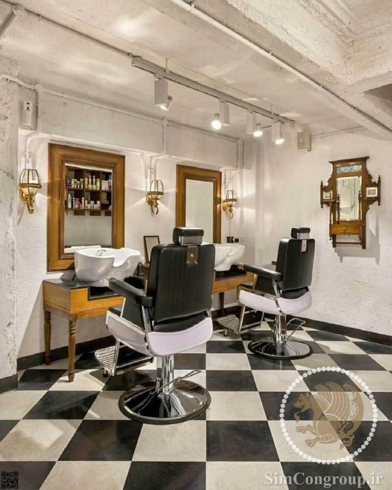 دکور آرایشگاه مردانه