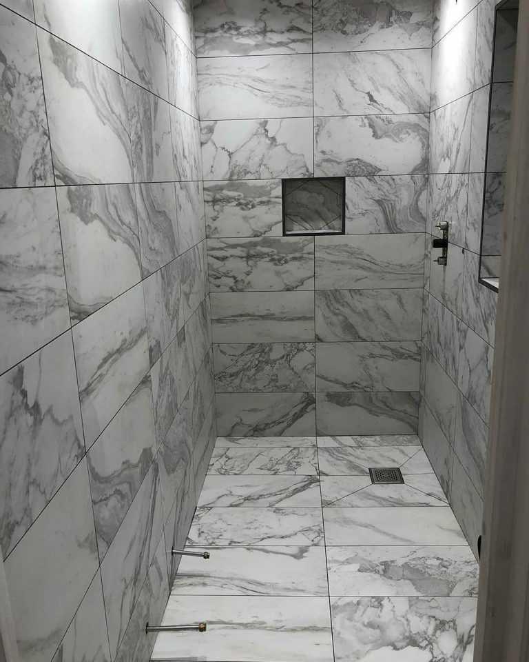 نصب کاشی حمام