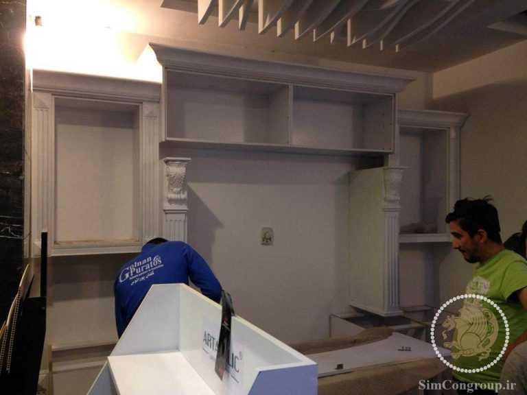 کابینت آشپزخانه خانه