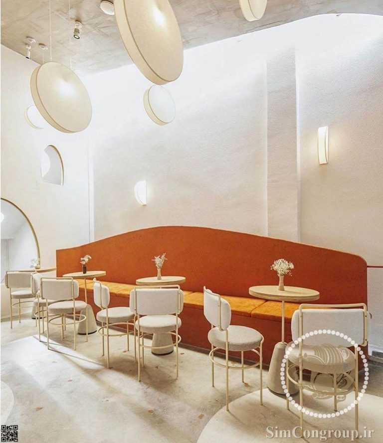 طراحی کافه مانند خانه