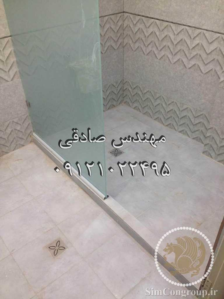 لوله کشی فاضلاب کفشور حمام