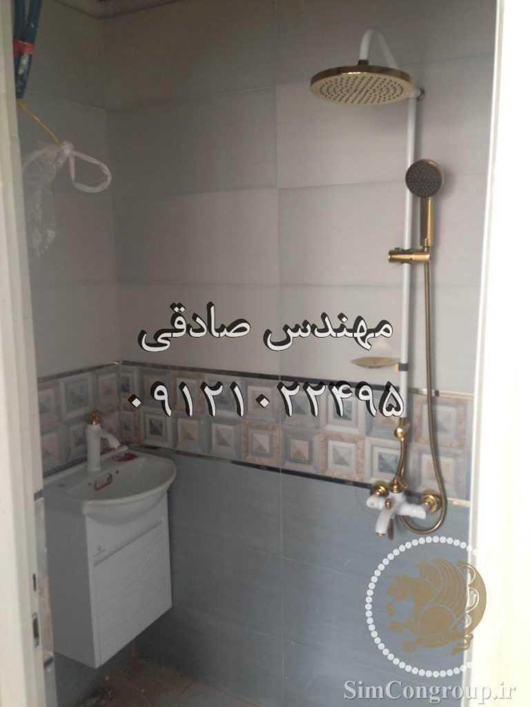نصب روشویی و دوش حمام