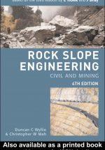 کتاب انگلیسی مهندسی سنگ
